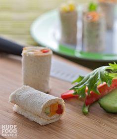 Roasted vegetables & hummus