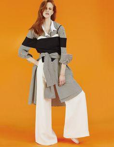 Harper's Bazaar Kazakhstan May 2017 Magdalena Jasek by Paul Smith - Fashion Editorials