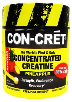 Con-Cret Creatine Micro-Dosing 48 Servings -  No Banned Substances! Rock Bottom Fitness