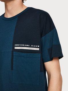 Block Shading Effect T-Shirt