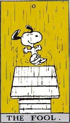 tarot cards the fool | The Fool Peanuts