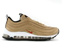 Nike Air Max 97 (GS) metallic gold / varsity red - blk