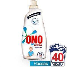 Omo Matik Sensitive Sıvı Çamaşır Deterjanı 1400 ml