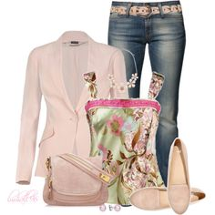 Pale Pink, created by lmhall96 on Polyvore