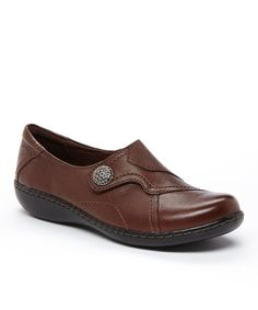 Look what I found on #zulily! Brown Ashland Bend Leather Loafer #zulilyfinds
