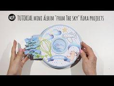 TUTORIAL MINI ÁLBUM BEBÉ con SHAKER colaboración KORA PROJECTS - YouTube