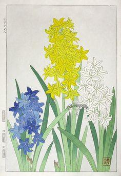 """Hyacinth"" by Kawarazaki Shodo (1889-1973)"