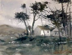 Painting demo at the Central Watercolor Society, San Luis Obispo. © Frank Eber.