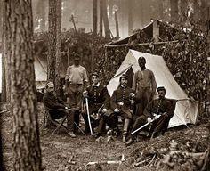 Petersburg, Virginia. Officers of 114th Pennsylvania Infantry