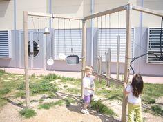 CEIP El Martinet (Ripollet, Barcelona) Preschool Classroom, Classroom Decor, Music Wall, Reggio Emilia, I School, Yard, Playgrounds, Outdoor Ideas, Originals