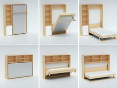 Murphy bed : I will have one sometime!