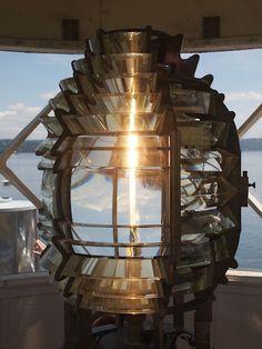 Fresnel Lens, Point Robinson Lighthouse, Vashon Island, WA