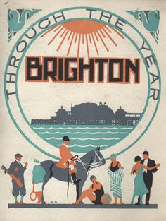 Brighton Guide book THIS pinterest account is b&h heaven!