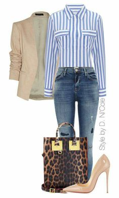 outfit casual date Mode Outfits, Office Outfits, Jean Outfits, Chic Outfits, Fall Outfits, Fashion Outfits, Womens Fashion, Office Attire, Classy Outfits