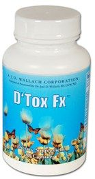 D'Tox Fx This proprietary blend of naturally detoxifying ingredients binds with impurities and toxins and helps to remove them from the body.