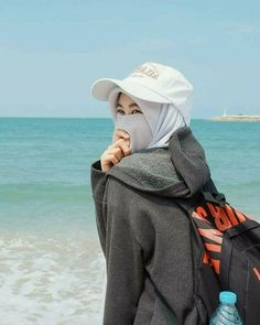 Hijab Niqab, Muslim Hijab, Hijab Chic, Stylish Hijab, Anime Muslim, Arab Girls, Muslim Girls, Muslim Women, Niqab Fashion