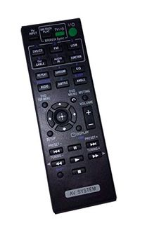 Introducing Replaced Remote Control Compatible for Sony HCDTZ145 RMADU138 148997311 DAVTZ145 DAVTZ135 HBDTZ130 Audio Video Receiver Home Theater system. Great product and follow us for more updates!