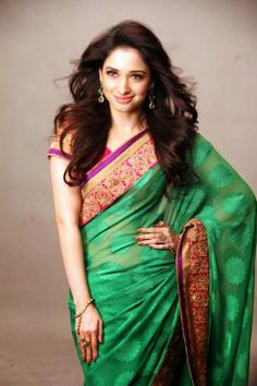Tamanna Bhatia Snapped Stunning in Saree in stylish Photoshoot For Joh Rivaaj
