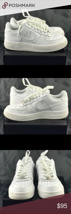 Nike Air Force One Women's Nike Air Force 1 07 Low. Size 7.5 in women's and 5.5 in youth. In excellent condition with only a few scuffs on the front Nike Shoes Athletic Shoes