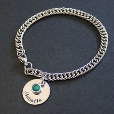 Medical Alert Charm Bracelet  stainless by SusansJewelryDesigns, $19.00