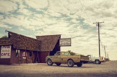 Badgad Cafè: a place in the middle of the Mojave Desert, in California.