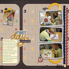 first day of school- kindergarten