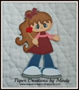 Kissing Girl  www.papercreationsbymindy.com