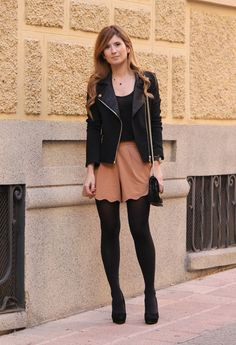 #fashion #fashionista Rebeca A TRENDY LIFE: BLACK AND CAMEL