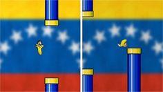 "Las protestas venezolanas toman forma de ""Flappy Bird"" http://ultim.as/1n1E9oN pic.twitter.com/Fy9qEAv6SC"