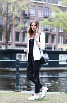 Style...Moderosa // Black and white spring style