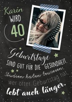 Gesundheit 40 Invitation card for the birthday with photo and witty saying to health. Fun Wedding Invitations, Invitation Cards, Birthday Invitations, Iceland Island, Susa, Witty Quotes, Bullet Journal Inspiration, Birthday Balloons, Back Tattoo