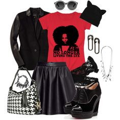 """""""The Lye is Dead"""" by Akili Kabibe on Polyvore #naturalhair #afro #nolye #blackgirlsrock"""