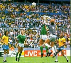 Brazil Vs Northern Ireland  FIFA World Cup 1986