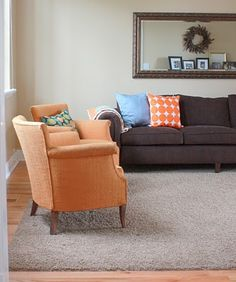 Color Sofa Charcoal Gray Nolee Folding Bed Review 56 Best Colours Images Furniture Home Living Room Orange And Grey The Colour Of Chairs Is Pretty Close To My