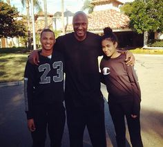 """Lamar Odom's daughter Destiny talked all about her dad's high profile relationship with Khloe Kardashian his overdose and his recovery from addiction in a new PEOPLE/Entertainment Weekly (PEN) featureSurviving A Fathers Addiction: Lamar Odoms Family Speaks Out and it sounds like she wasn't her former stepmom's biggest fan.  """"Things changed when my dad married Khloe. Things were a lot more public. When your dads an NBA player thats already enough but when hes marrying a reality TV star things…"""