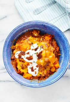 This Instant Pot Sweet Potato Chili is not your typical chili. Although it includes many familiar chili ingredients, it also has some unique additions that make this chili stand out from the pack. When I think of chili, I think of meat, beans, onions, garlic, and tomatoes. You'll find all of those familiar ingredients in this Instant Pot Sweet Potato Chili. What sets this chili apart are some of the other ingredients, like sweet potato, chickpeas, and Guinness (if you choose to add it)…