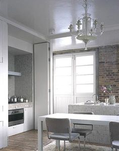 Ilse Crawford Studio Hideaway galley style kitchen