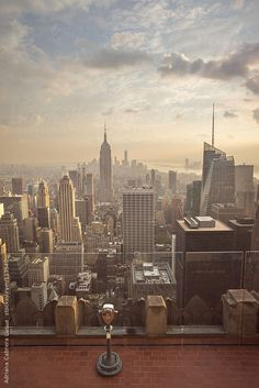 Viewpoint at Rockefeller Center by Adriana Cabrera Luque