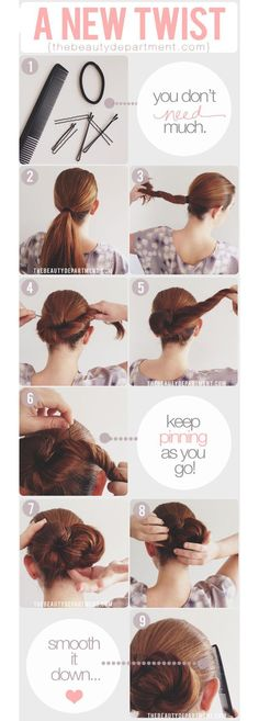 OMG I Love Your Hair: The Infinity Bun