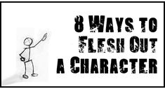 Looking to develop a character? Here are eight ways you can create a fleshier concept for who your character is and what drives them.