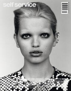 Self Service #36 Spring/Summer 2012 (Cover #2)Model: Daphne GroeneveldStylist: Suzanne Koller