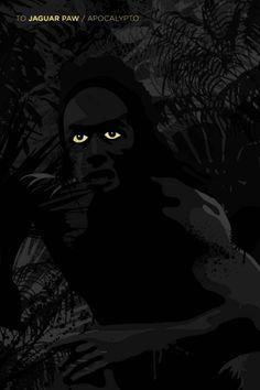 To Jaguar Paw ~ Apocalypto (2006) ~ Alternative Movie Poster by Ojasvi Mohanty #amusementphile