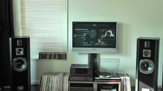 Quadral Montan mk3 Yamaha M-80 -C-85 - (streaming pc) M 80, Get Ready, Yamaha, Flat Screen, France, People, Blood Plasma, Flatscreen, People Illustration