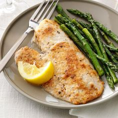 Parmesan-Broiled Tilapia Recipe -I love that simple Parmesan cheese brings such richness to an otherwise mild-tasting fish. It's one dish where leftovers are never a problem! — Tracy Locken, Gillette, Wyoming