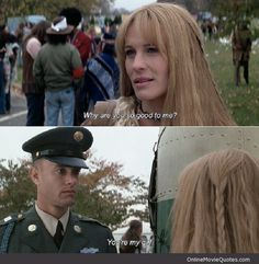 you're my girl - Forrest Gump #movie #quote featured @ www.OnlineMovieQuotes.com