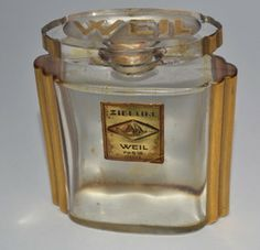 weil perfume bottle zibeline