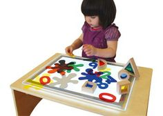 Ultra Bright A3 LED Light Panel. Suitable for exploratory play.