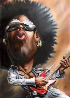 "Forum Lenny Kravitz Online - ""The French Board"" :: Sujet : Caricature de Lenny :) (1/2)"