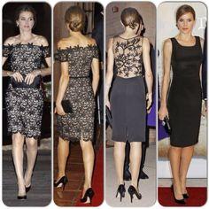 54ce452587cc MYROYALS  HOLLYWOOD FASHİON  Princess Letizia  s Felipe Varela Dresses  Vestido Estampado