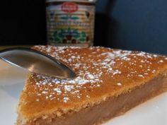 Fondant with easy brown cream - gerechten - Sweet Recipes, Cake Recipes, Dessert Recipes, Compote Recipe, Farm Cake, Thermomix Desserts, Icebox Cake, Breakfast Dessert, Food Cakes